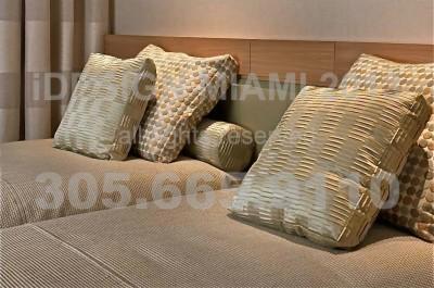 Custom Bedding.