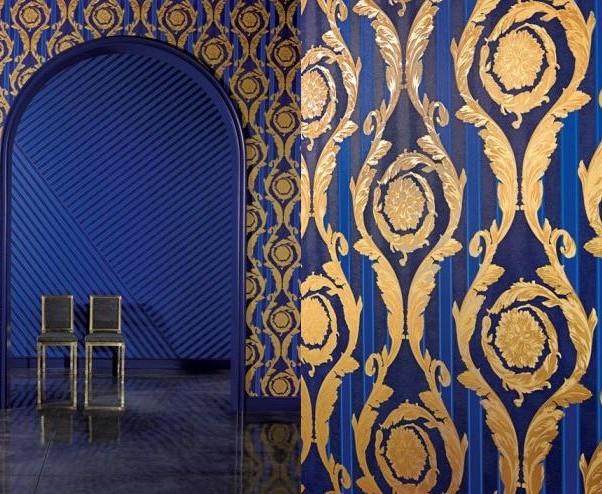 Versace announces the new wallpaper collection for Wallpaper versace home